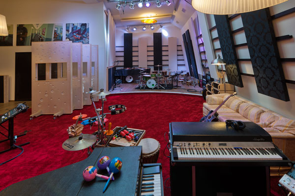 Made by Hans Koomans: Sandlane recording room 2